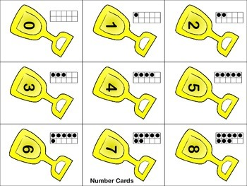"""""""Scooping Up"""" Number Combinations of 8 Game"""