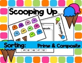 Scooping Up ... Prime and Composite (Sorts - Ice Cream)