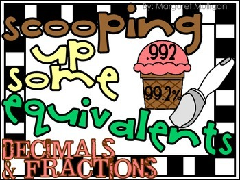 Scooping up Some Equivalents - Percents and Fractions