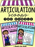 Scoops of Articulation: The Bundle! {NO PREP}