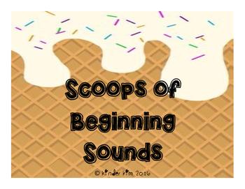 Scoops of Beginning Sounds Sort