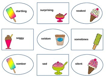 "Scoops of ""S"" Synonyms"