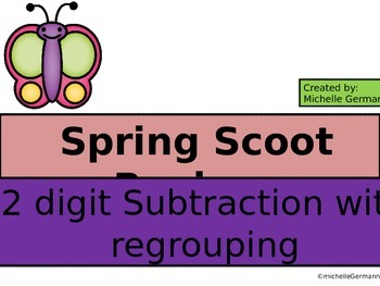 Scoot 2 Digit Subtraction with Regrouping