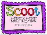 Scoot 2-digit x 2-digit Multiplication Game