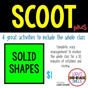 Scoot - 3D Shapes...Solid Shapes