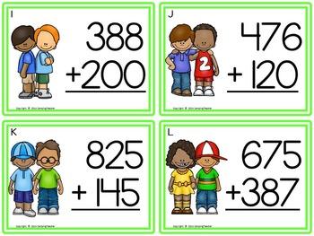 Scoot! 5 Ways Math Game Task Card Set