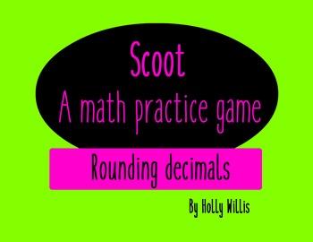 Scoot! A Rounding Decimals Game