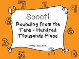 Scoot: A Rounding Review Game--Tens through Hundred Thousands Place