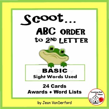 ABC | ABC to 2nd Letter | TASK CARDS | SIGHT WORDS | Gr 2-