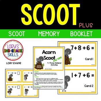 Scoot -Acorn Scoot & more... 3 Addends