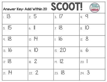 Scoot: Add Within 20