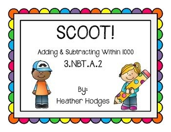 Scoot Addition and Subtraction Task Cards