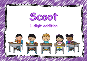 Scoot Addition 1 digit by 1 digit