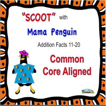 Penguins Addition Scoot 11-20