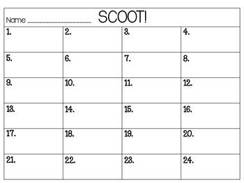 Scoot!  Animals