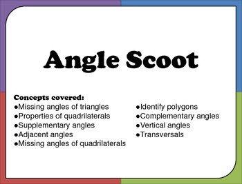 Scoot Angles