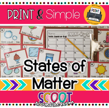 Scoot Around the Room: States of Matter