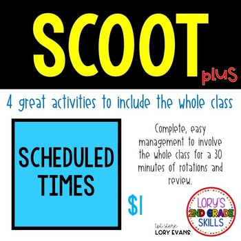 Scoot - Barn Scoot & more... Scheduled Times
