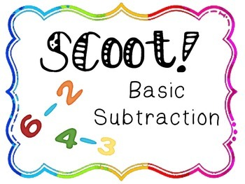 Scoot! Basic Subtraction