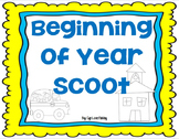 Scoot: Beginning of the Year