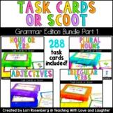 Scoot or Task Card Bundle Pack: Grammar Edition Part 1 (4 Games)