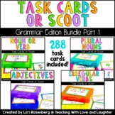 Scoot or Task Card Bundle Pack: Grammar Edition Part 1 (4 Games)