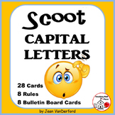 CAPITAL LETTERS SCOOT TASK CARDS Game ... Award ⭐Posters for Rules Gr 3-4