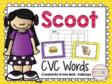 Scoot - CVC Words - Literacy Game, Activity or Center