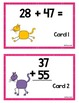 Scoot -Cat Paws Scoot & more... Db. Digit Addition w/regrouping