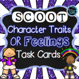 Scoot - Character Traits or Feelings Task Cards