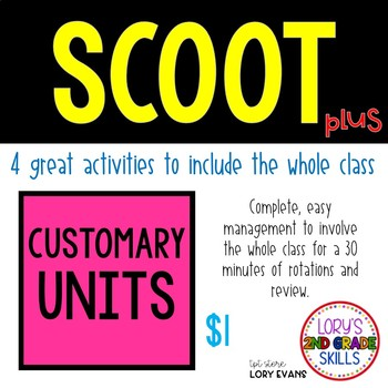 Scoot - Colored Pencil Scoot & more... Customary Units