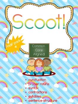 Scoot Common Core- Half Pack #1