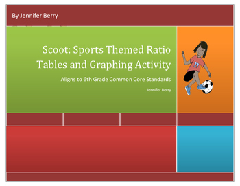 Scoot Common Core Ratio Tables and Graphs