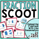 Scoot - Comparing Fractions With Same Denominators Activity