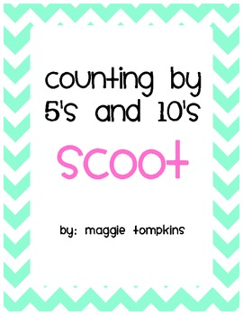 Scoot Counting By 5's and 10's