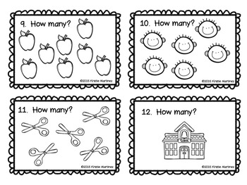 Scoot! Counting {Freebie}