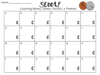 Scoot! Counting Money