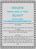 Scoot FREEBIE {Nouns - Person, place or thing}
