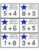 Fact Fluency-Fact Fluency Tests-Addition Task Cards-Math Worksheets-Addition
