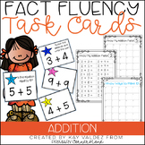 Fact Fluency-Fact Fluency Tests-Addition Task Cards-Math W
