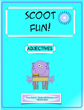 Scoot Fun! Adjectives