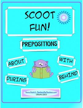 Scoot Fun! Prepositions!