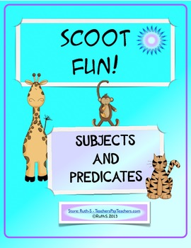 Scoot Fun! Subjects and Predicates