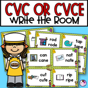 CVC and CVCe Scoot or Write the Room