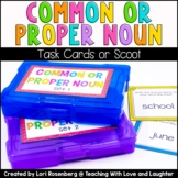 Common or Proper Noun Task Cards or Scoot