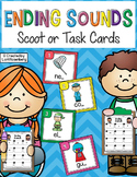Ending Sounds Scoot or Task Cards