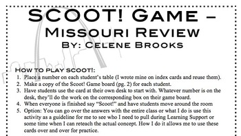 Scoot! Game Missouri Review