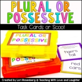 Plural or Possessive Nouns Scoot or Task Cards