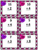 Scoot Game/Task Cards: Addition Sums to 30, Subtraction differences under 30
