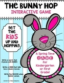 Spring SCOOT Game {The Bunny Hop} Kindergarten & First Grade ELA and Math
